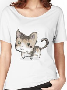 Cat squeegie Women's Relaxed Fit T-Shirt