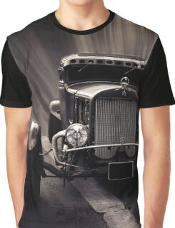 Hot Rod, black and white Graphic T-Shirt