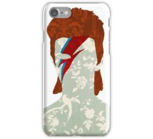 Floral Bowie iPhone Case/Skin