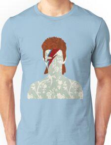 Floral Bowie Unisex T-Shirt