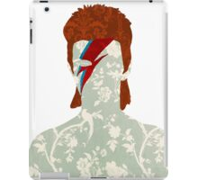 Floral Bowie iPad Case/Skin