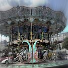 Carousel's at Chartres by Larry Lingard-Davis