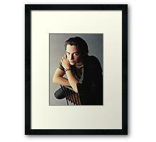 Keanu Reeves Framed Print