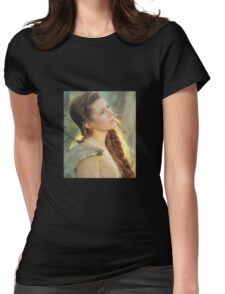 princes leia Womens Fitted T-Shirt