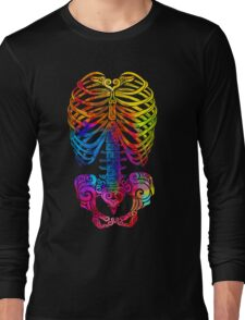 Swirly Skeleton T-Shirt