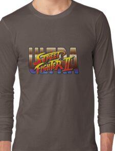 Ultra Street Fighter II 2 HD logo Long Sleeve T-Shirt