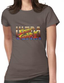 Ultra Street Fighter II 2 HD logo Womens Fitted T-Shirt