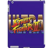 Ultra Street Fighter II 2 HD logo iPad Case/Skin