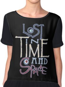 Lost In Time & Space Chiffon Top