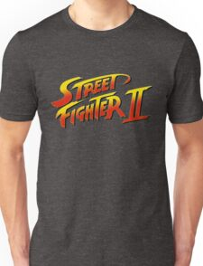 Street Fighter II 2 HD logo Unisex T-Shirt