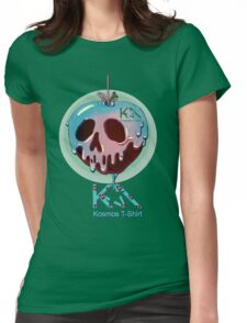 Skull  poison  Womens Fitted T-Shirt