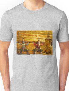 Gardians of the Grand Palace in Bangkok Thailand Unisex T-Shirt