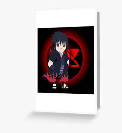 SASUKE RPG Greeting Card