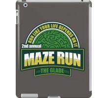 Maze Run 5K iPad Case/Skin