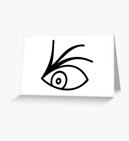 A Series Of Unfortunate Events Characters Netflix Series Olaf Tattoo Eye Greeting Card