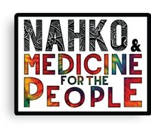 Nahko & Medicine for the People Fan Art Canvas Print