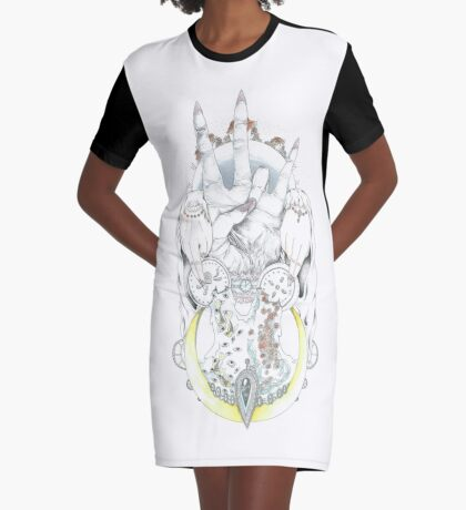 historic peledian religious symbol Graphic T-Shirt Dress