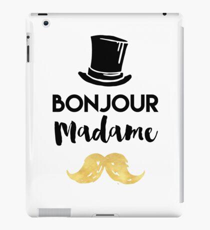 BONJOUR MADAME - Hat & Mustache iPad Case/Skin