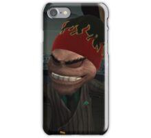 Chairman Drek Flame Beanie iPhone Case/Skin