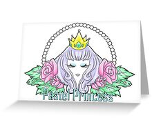Pastel Princess Greeting Card