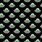 UFO Sloth Pattern by SaradaBoru