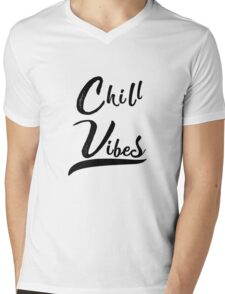 Chill Vibes Mens V-Neck T-Shirt