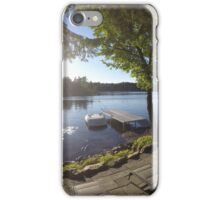 Canadian Backyard iPhone Case/Skin