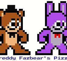 8-bit Five Night's at Freddy's by 8 Bit Hero