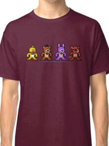 8-bit Five Night's at Freddy's Classic T-Shirt