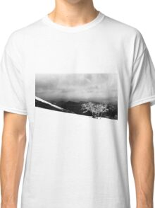 Mount Catria under the snow 15 Classic T-Shirt