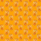 Fire Cat Pattern by SaradaBoru