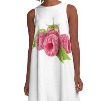 Raspberries A-Line Dress