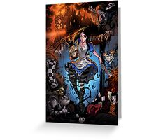 Alice Madness Returns Greeting Card