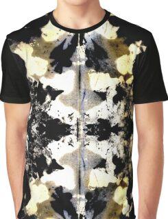 Layered Inkblot Graphic T-Shirt