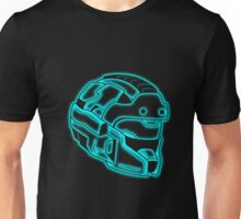 Space Trooper Helmet II - Blue Unisex T-Shirt