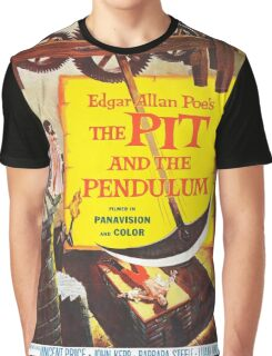 Vintage poster - The Pit and the Pendulum Graphic T-Shirt