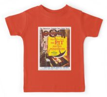 Vintage poster - The Pit and the Pendulum Kids Tee