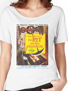 Vintage poster - The Pit and the Pendulum Women's Relaxed Fit T-Shirt