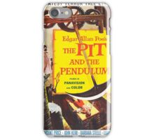 Vintage poster - The Pit and the Pendulum iPhone Case/Skin