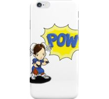 READY? LETS FIGHT! Chun Li PUNCH!  iPhone Case/Skin