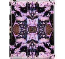 Blue Goth Psychedelia iPad Case/Skin