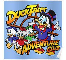 DuckTales Adventure Club Poster