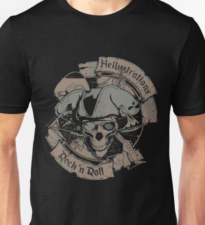 The Pirate Skull Unisex T-Shirt