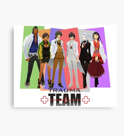Trauma Team Canvas Print