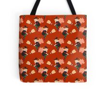 Cute Witch Pattern Tote Bag