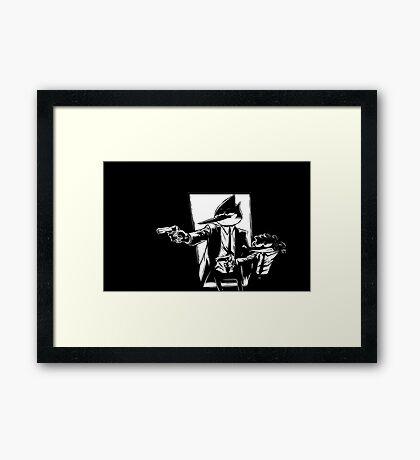 Pulp show Framed Print
