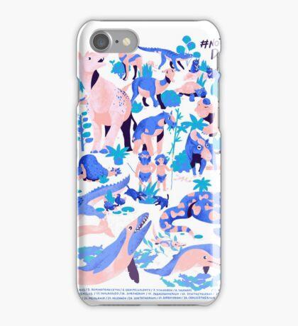 NOT DINOVEMBER 2016 FRANXURIO iPhone Case/Skin