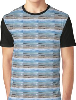 Stormy Winter Blues Graphic T-Shirt