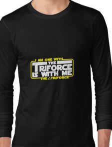 Triforce is with me! Long Sleeve T-Shirt