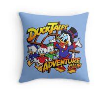 DuckTales Adventure Club Throw Pillow